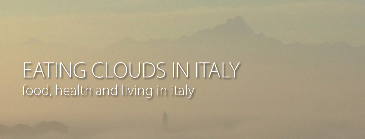 Eating Clouds in Italy