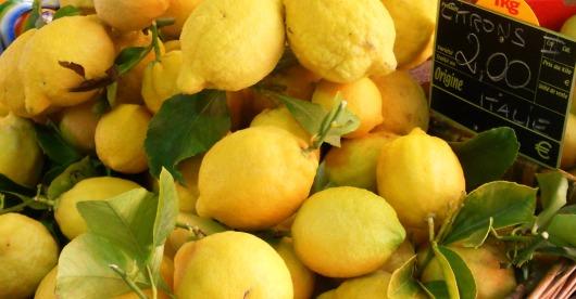 Lemons Menton