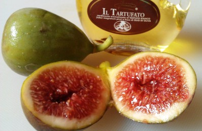 halved figs